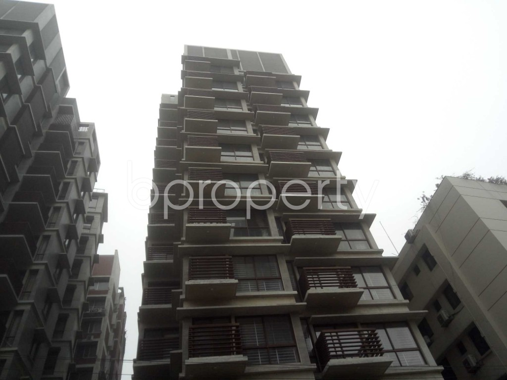 Front view - 4 Bed Apartment for Sale in Baridhara, Dhaka - 1965305