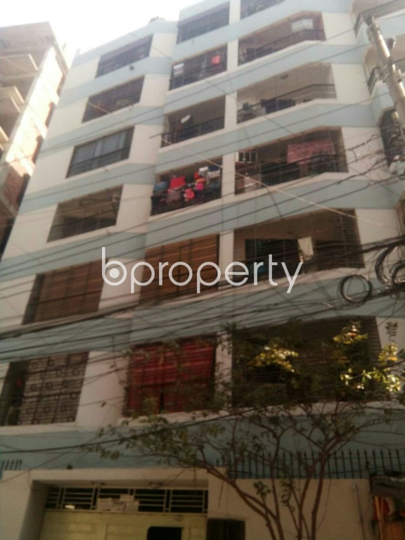 Front view - 3 Bed Apartment for Sale in Lalmatia, Dhaka - 1968382