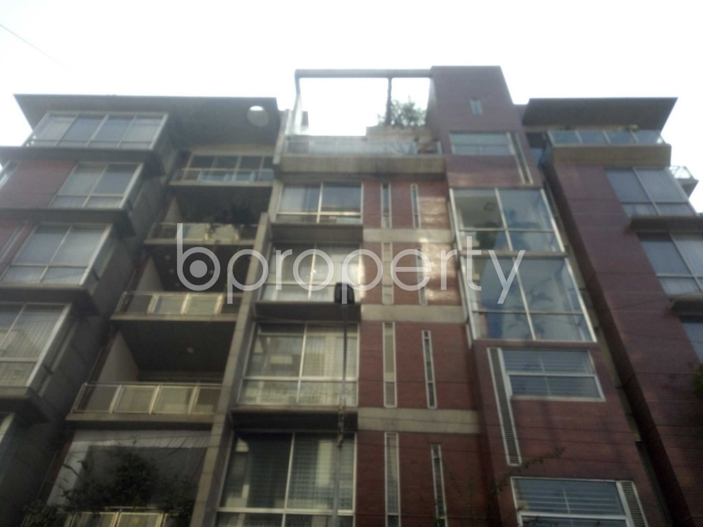 Outside view - 4 Bed Apartment to Rent in Baridhara, Dhaka - 1970748