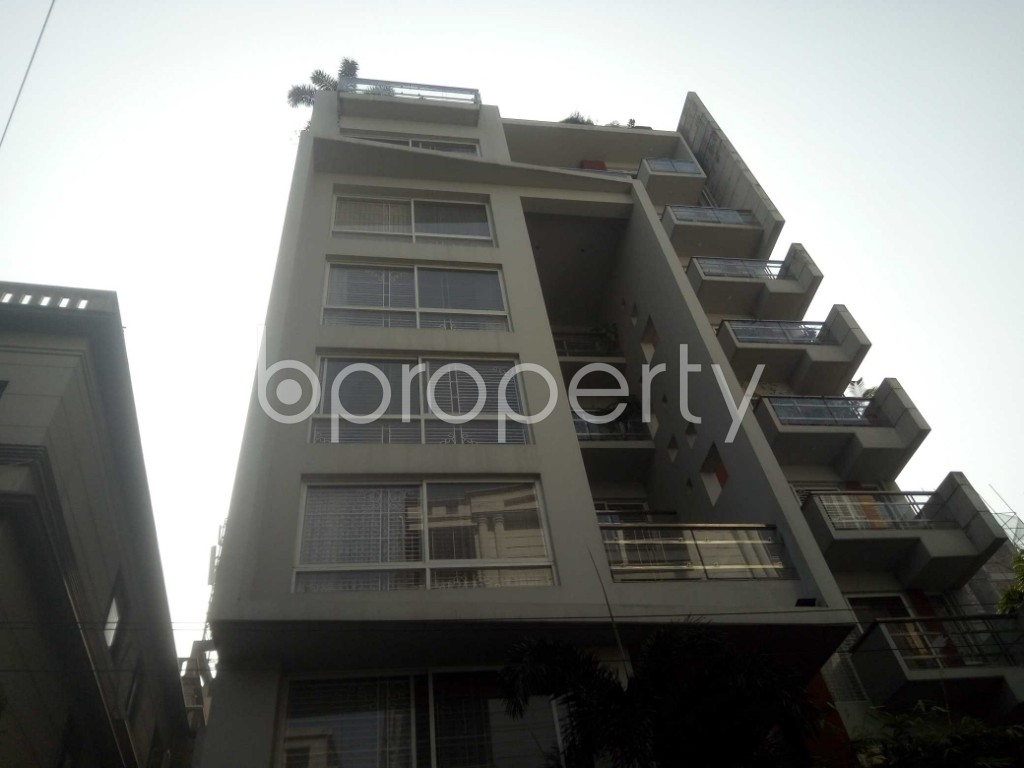 Outside view - 4 Bed Apartment to Rent in Baridhara, Dhaka - 1970786