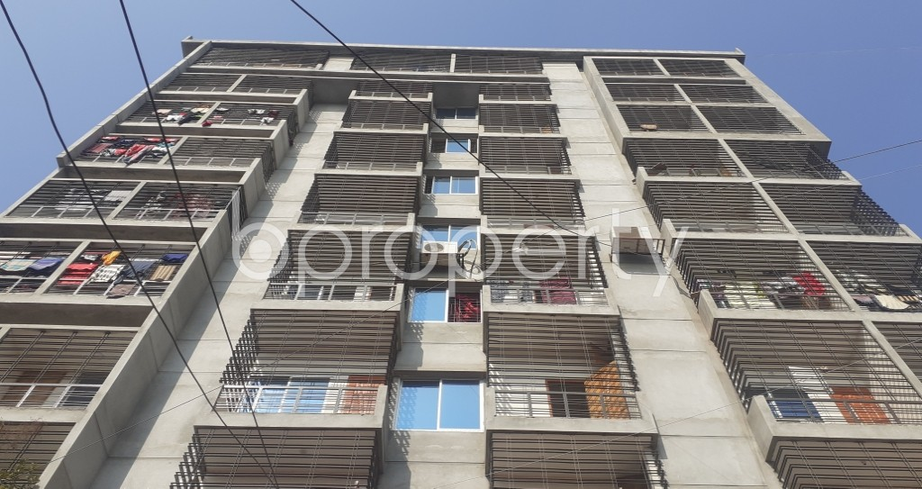 Front view - 3 Bed Apartment for Sale in Mohammadpur, Dhaka - 1972205