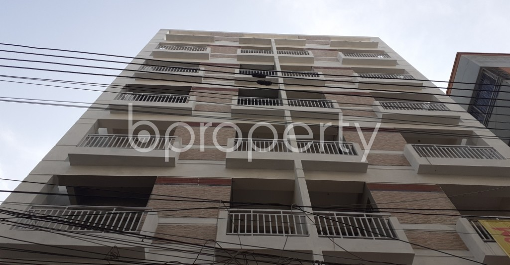 Front view - 3 Bed Apartment for Sale in Mirpur, Dhaka - 1972470