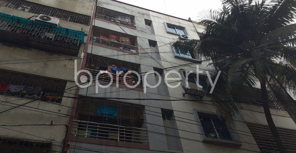 Front view - 2 Bed Apartment to Rent in Lalmatia, Dhaka - 1973524
