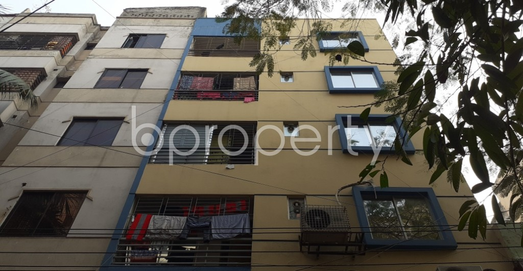Front view - 1 Bed Apartment to Rent in Lalmatia, Dhaka - 1973525