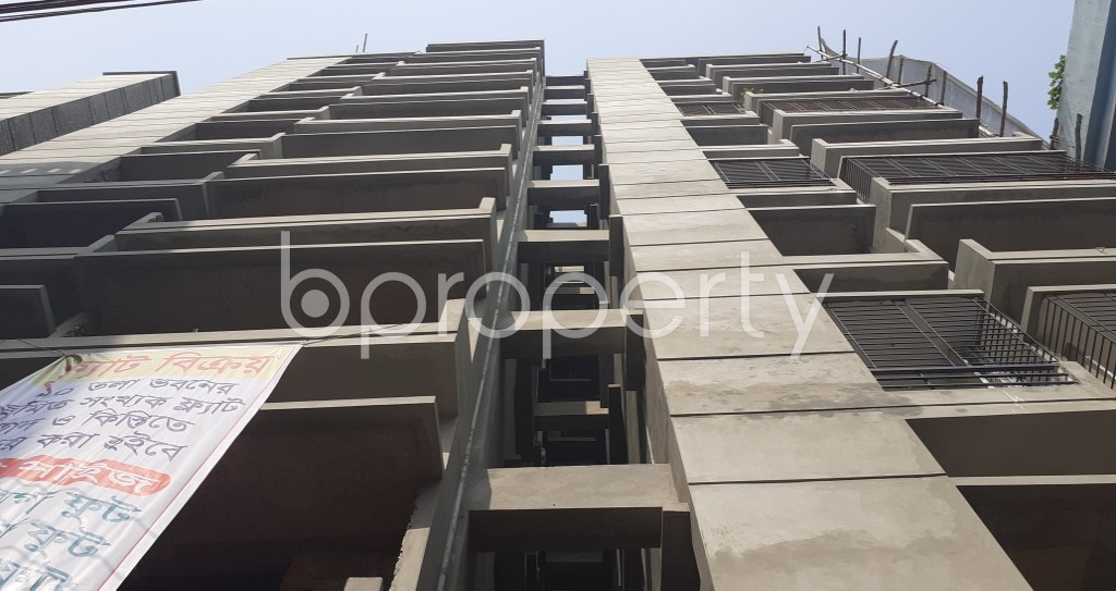 Front view - 3 Bed Apartment for Sale in Mirpur, Dhaka - 1974200