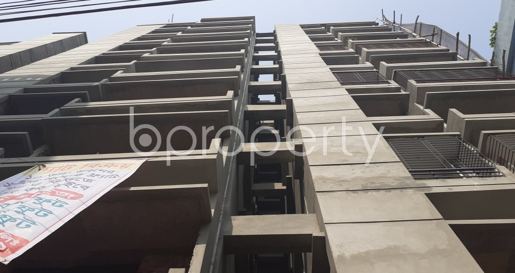 Front view - 3 Bed Apartment for Sale in Mirpur, Dhaka - 1974203