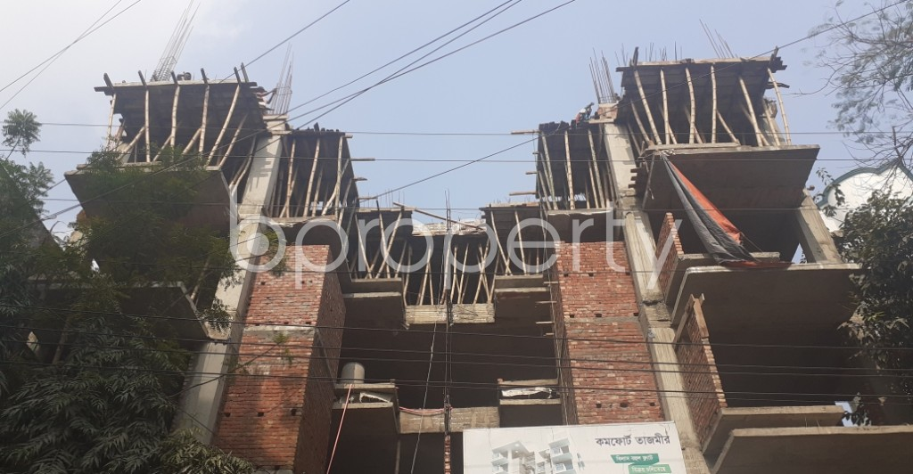 Front view - 3 Bed Apartment for Sale in Uttara, Dhaka - 1974536