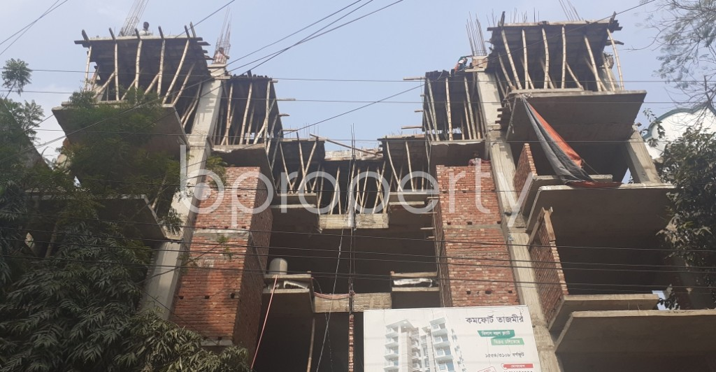 Front view - 3 Bed Apartment for Sale in Uttara, Dhaka - 1974539