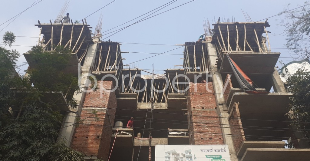 Front view - 3 Bed Apartment for Sale in Uttara, Dhaka - 1974541