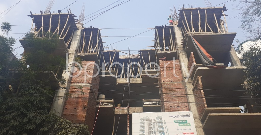 Front view - 3 Bed Apartment for Sale in Uttara, Dhaka - 1974543