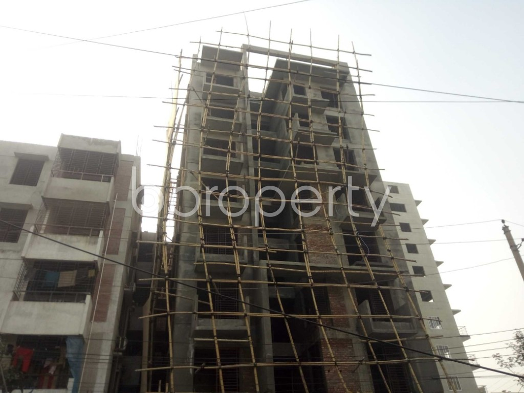 Street View - 2 Bed Apartment for Sale in Bashundhara R-A, Dhaka - 1972547