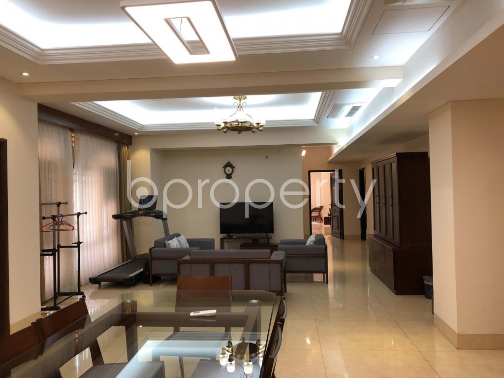 Dining area - 5 Bed Apartment to Rent in Gulshan, Dhaka - 1972670