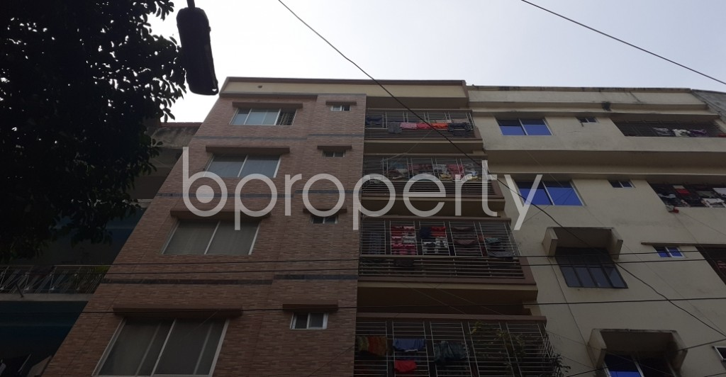 Outside view - 3 Bed Apartment to Rent in Lalmatia, Dhaka - 1975187