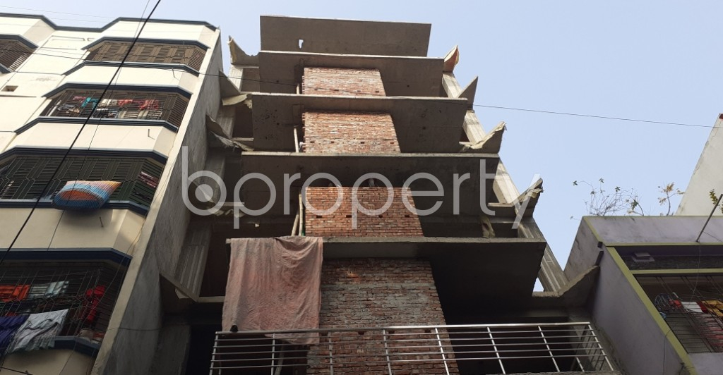 Front view - 4 Bed Apartment for Sale in Mohammadpur, Dhaka - 1975372