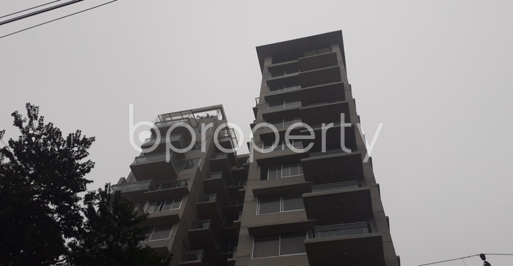 Front view - 3 Bed Apartment for Sale in Dhanmondi, Dhaka - 1975462