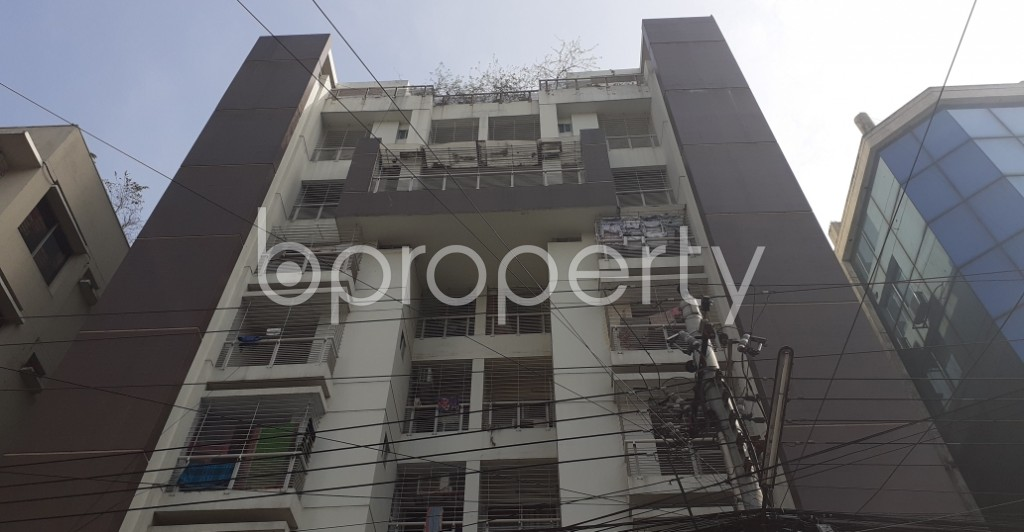 Front view - 3 Bed Apartment for Sale in Uttara, Dhaka - 1975562