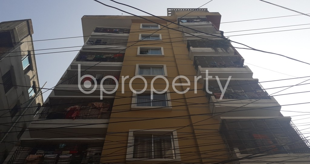 Front view - 2 Bed Apartment for Sale in Mirpur, Dhaka - 1975607