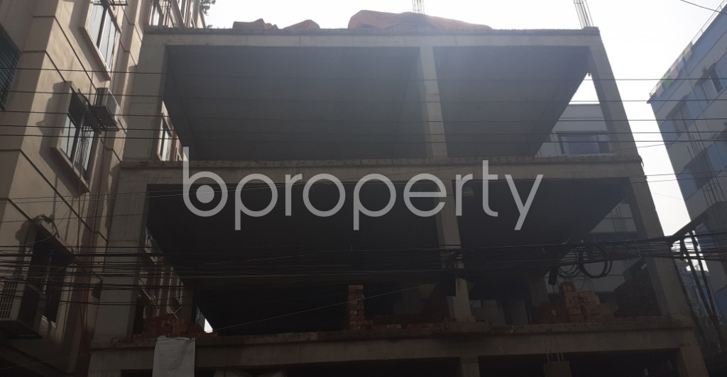 Front view - 3 Bed Apartment for Sale in Uttara, Dhaka - 1975663