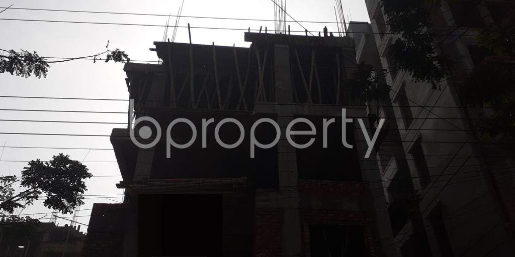 Front view - 3 Bed Apartment for Sale in Bashundhara R-A, Dhaka - 1976124