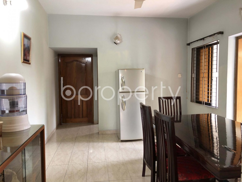 Dining area - 3 Bed Apartment for Sale in Banani, Dhaka - 1966130