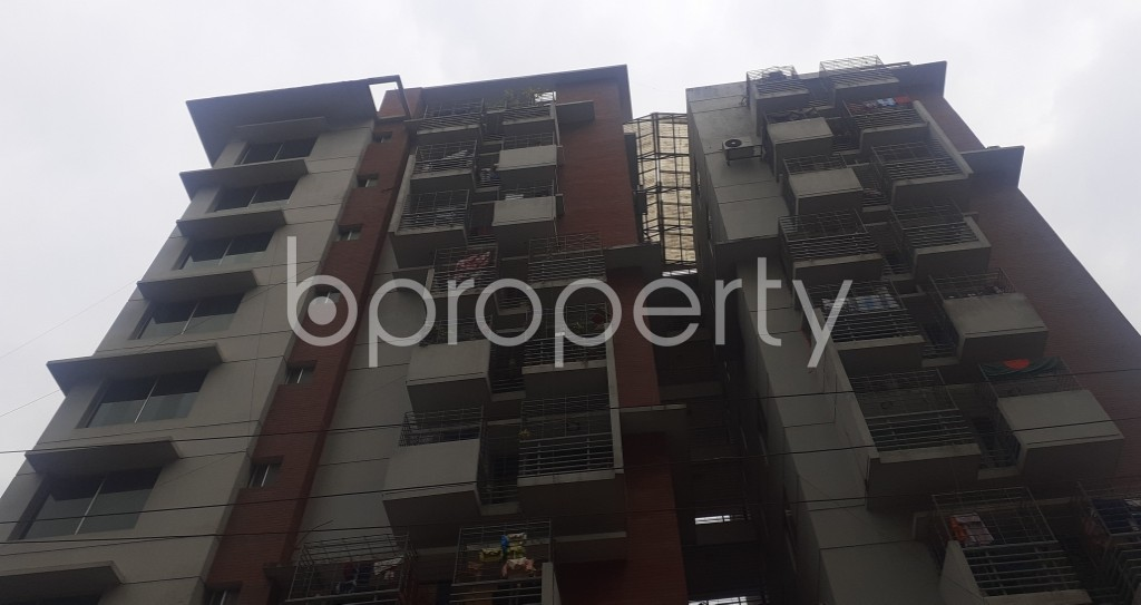 Front view - 3 Bed Apartment for Sale in Mohammadpur, Dhaka - 1976600