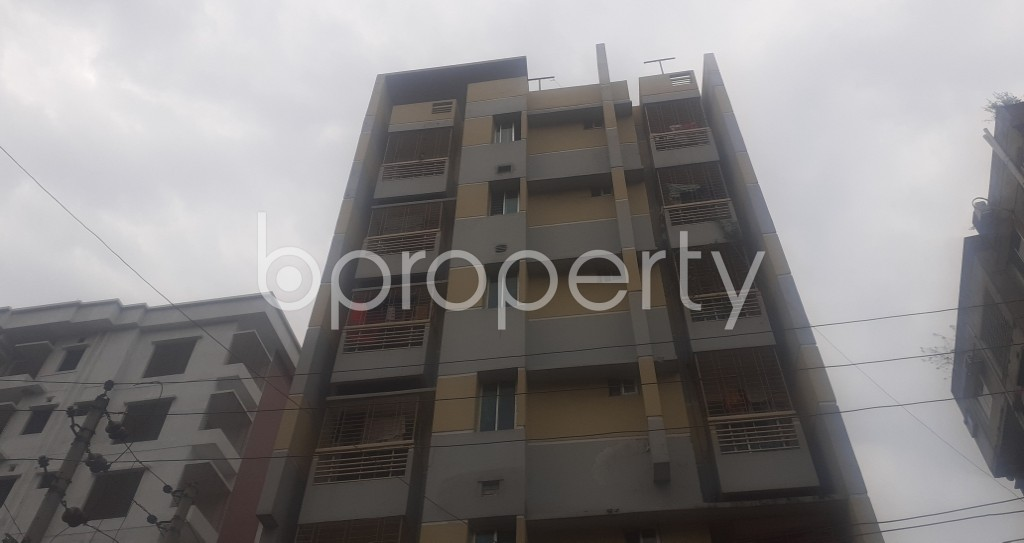 Front view - 2 Bed Apartment for Sale in Mohammadpur, Dhaka - 1976604