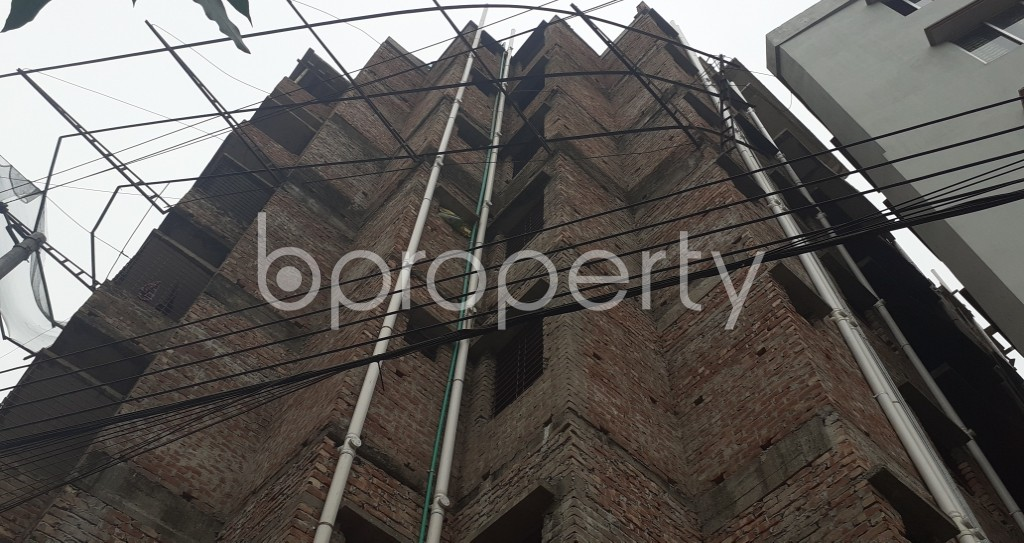 Front view - 3 Bed Apartment for Sale in Mirpur, Dhaka - 1976955