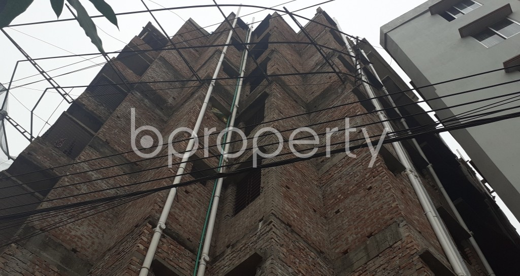 Front view - 3 Bed Apartment for Sale in Mirpur, Dhaka - 1976956