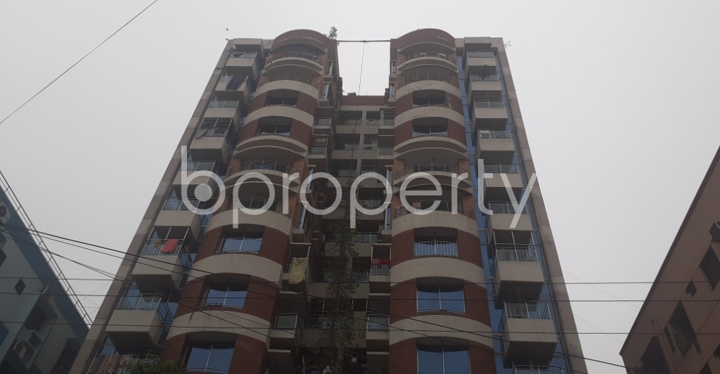 Front view - 3 Bed Apartment for Sale in Dhanmondi, Dhaka - 1977029