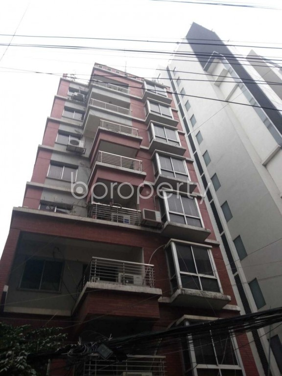 Front view - 3 Bed Apartment for Sale in Uttara, Dhaka - 1977355