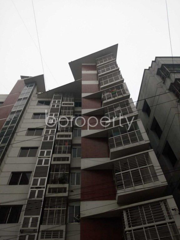 Front view - 3 Bed Apartment for Sale in Uttara, Dhaka - 1977357