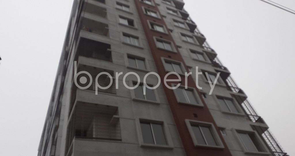 Front view - 3 Bed Apartment for Sale in Mohammadpur, Dhaka - 1977434