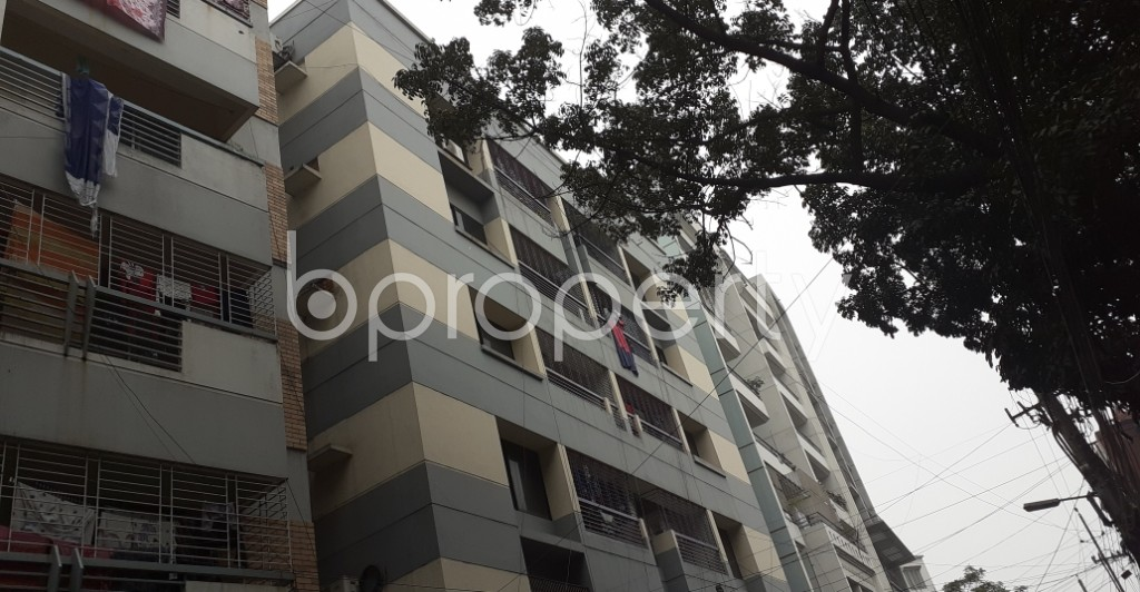 Outside view - 3 Bed Apartment to Rent in Lalmatia, Dhaka - 1977531