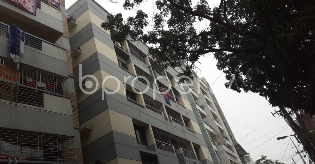 Outside view - 3 Bed Apartment to Rent in Lalmatia, Dhaka - 1977533