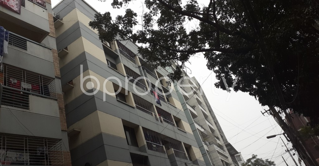 Outside view - 3 Bed Apartment to Rent in Lalmatia, Dhaka - 1977537
