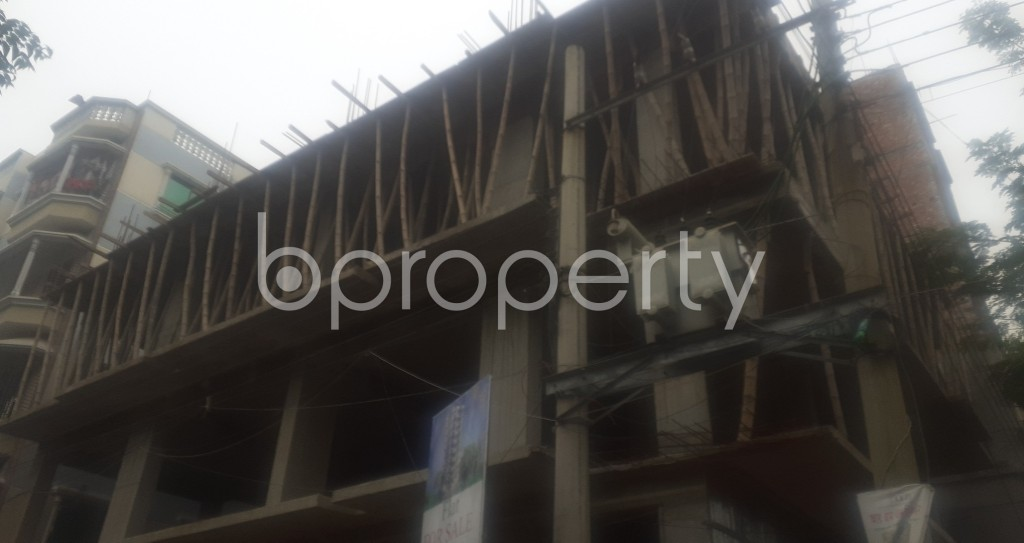 Front view - 3 Bed Apartment for Sale in Mohammadpur, Dhaka - 1977547