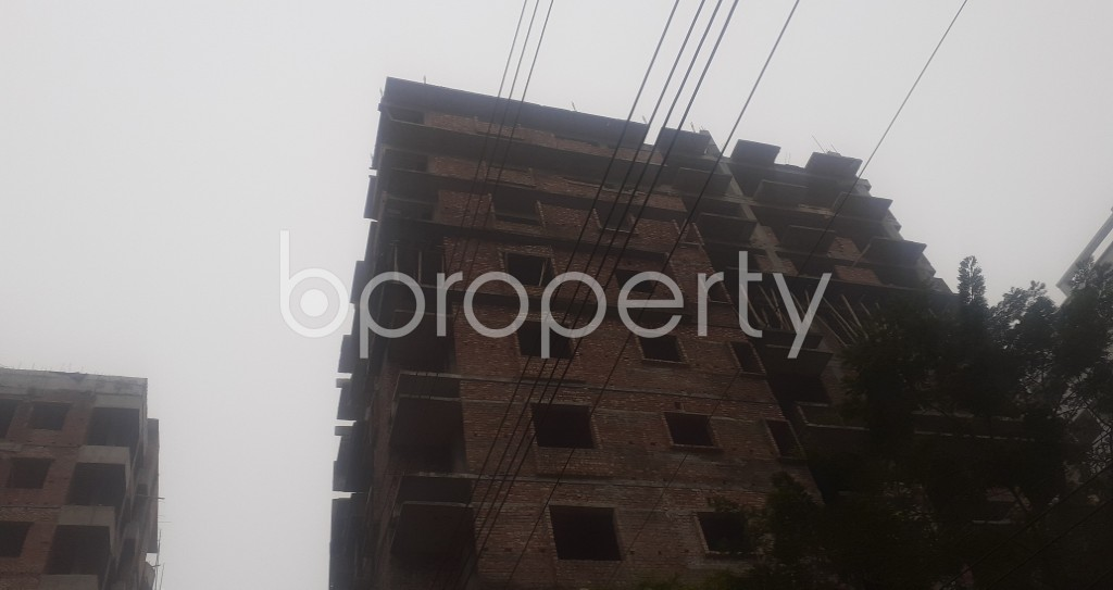 Front view - 3 Bed Apartment for Sale in Mohammadpur, Dhaka - 1977552