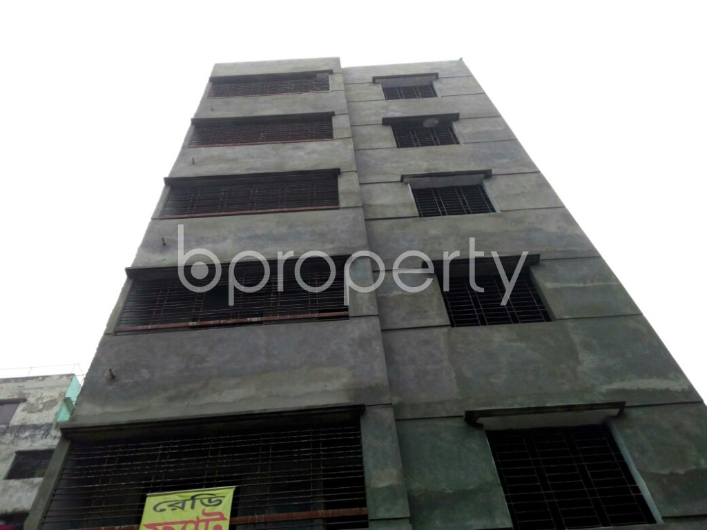 Front view - 2 Bed Apartment for Sale in Mirpur, Dhaka - 1977674