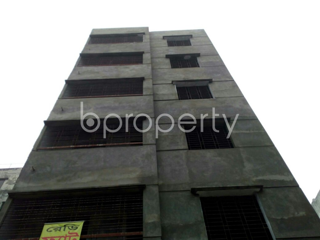 Front view - 4 Bed Apartment for Sale in Mirpur, Dhaka - 1977676