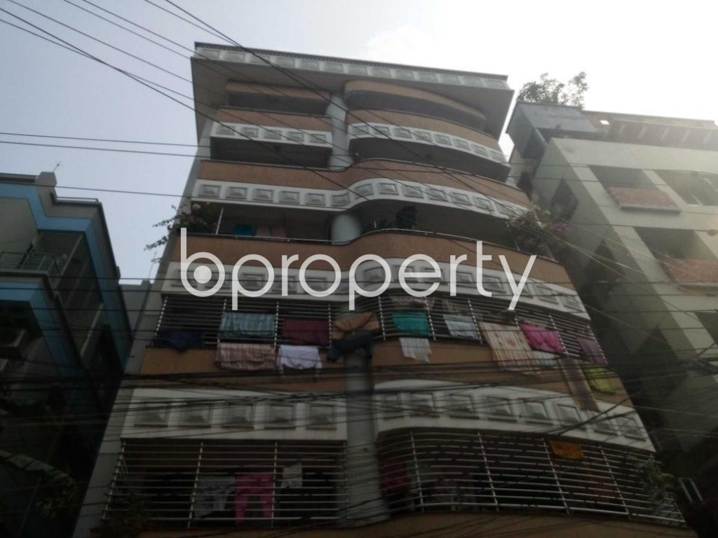 Front view - 4 Bed Apartment for Sale in Uttara, Dhaka - 1977751