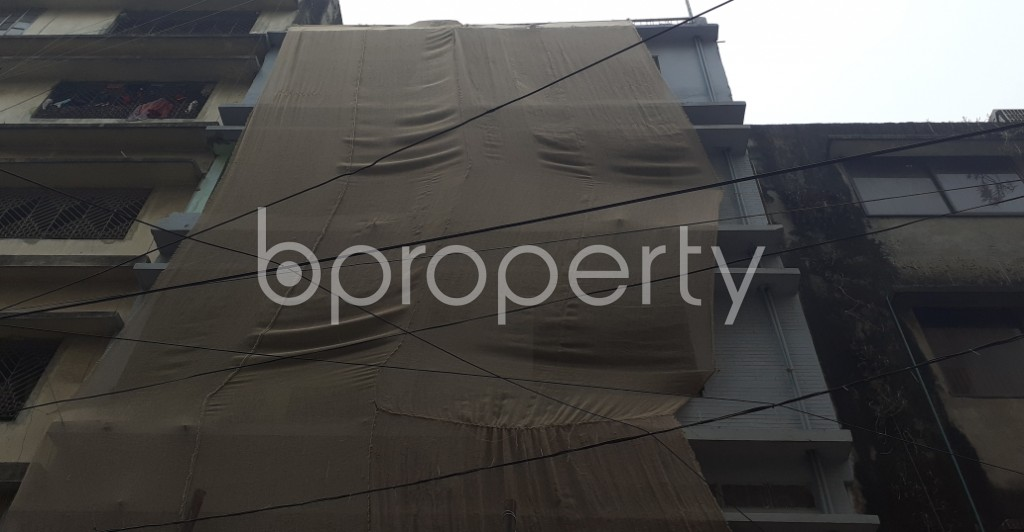 Front view - 4 Bed Apartment for Sale in Mohammadpur, Dhaka - 1977860
