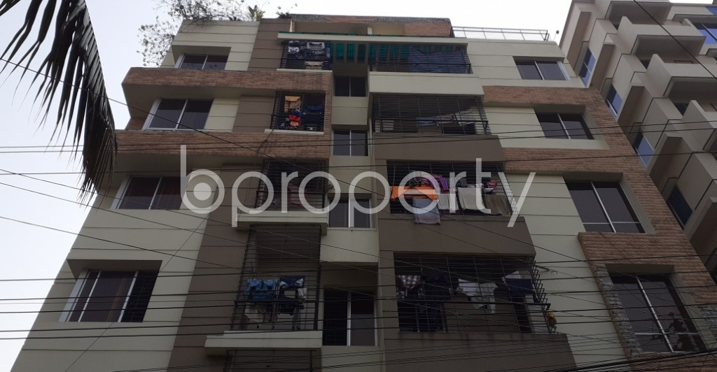 Front view - 3 Bed Apartment for Sale in Uttara, Dhaka - 1977964