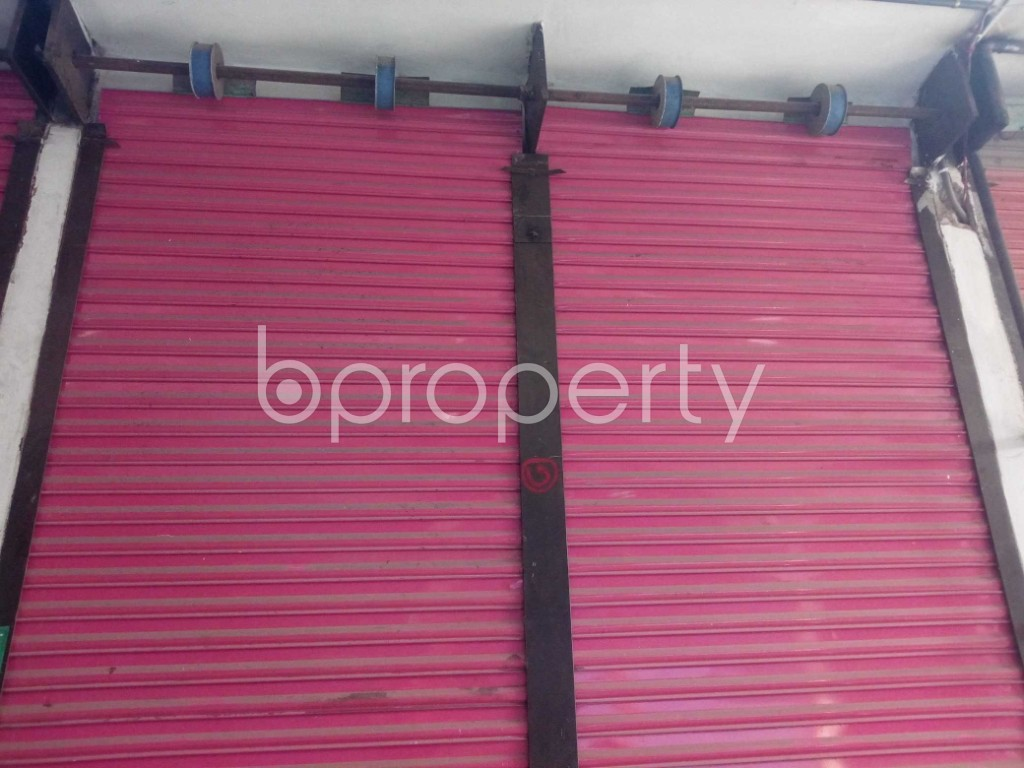 Front view - Shop to Rent in Kuril , Dhaka - 1977991