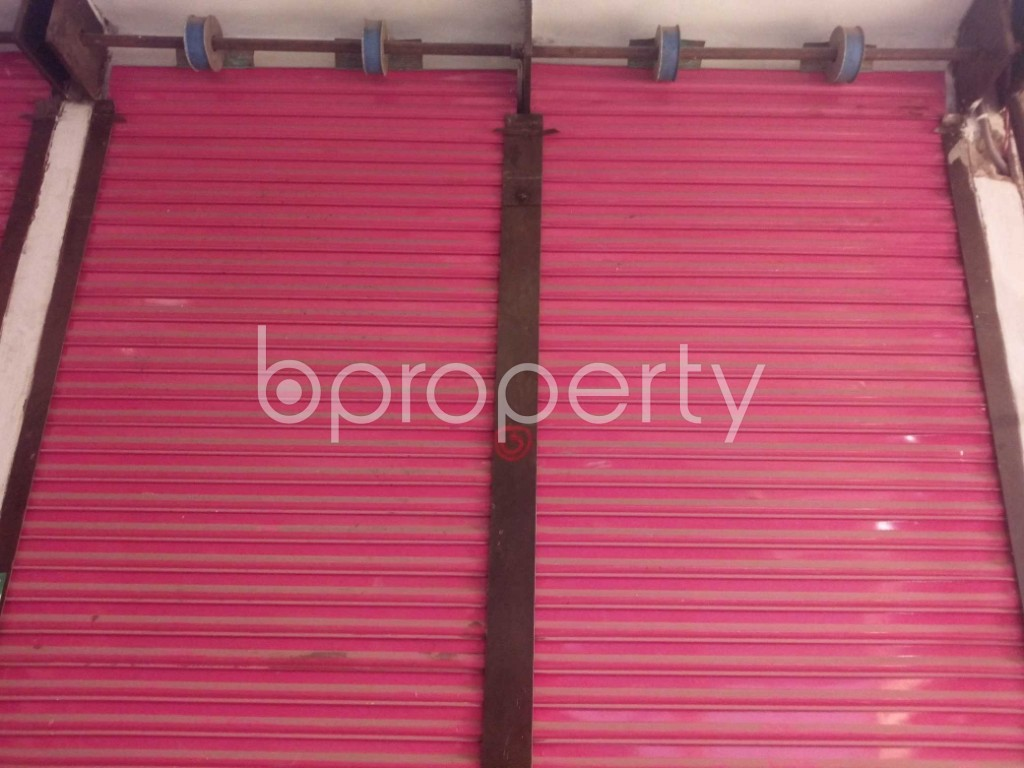Front view - Shop to Rent in Kuril , Dhaka - 1977992