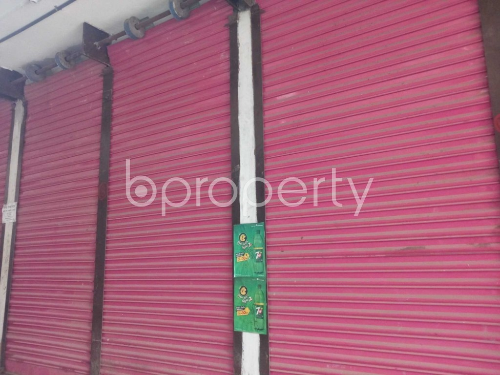 Front view - Shop to Rent in Kuril , Dhaka - 1977995