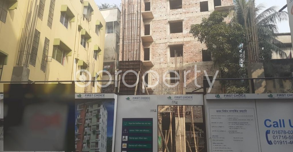 Front view - 4 Bed Apartment for Sale in Mohammadpur, Dhaka - 1978122