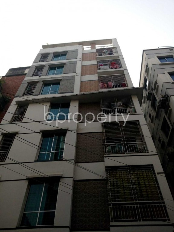 Front view - 3 Bed Apartment for Sale in Uttara, Dhaka - 1978153