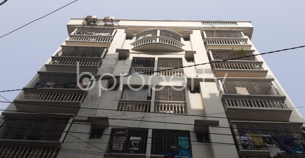 Front view - 3 Bed Apartment for Sale in Bashundhara R-A, Dhaka - 1978211