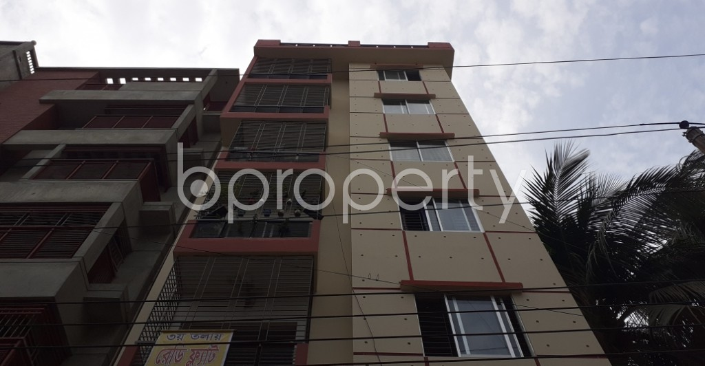 Front view - 3 Bed Apartment for Sale in Mirpur, Dhaka - 1978318