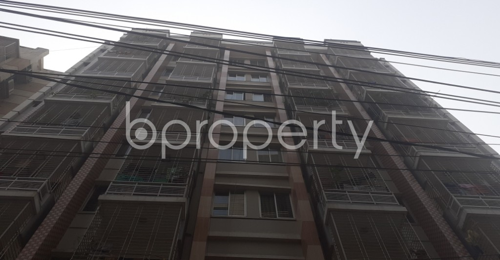 Front view - 3 Bed Apartment for Sale in Dhanmondi, Dhaka - 1978374